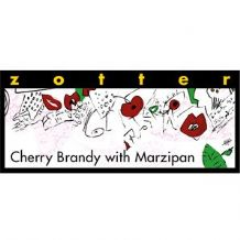 Zotter Cherry Brandy with Marzipan 70% 70g